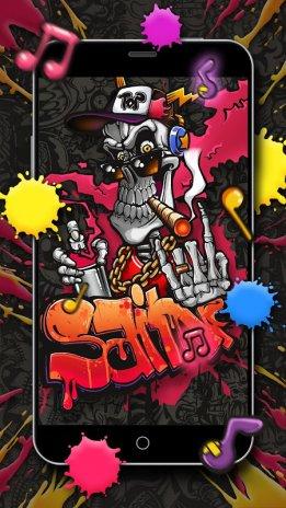 Graffiti Skull Street Art Live Wallpaper 112 Download