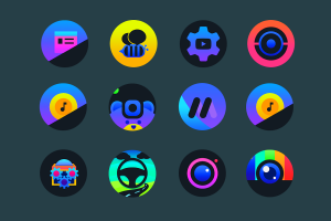 Planet O - Icon Pack Screen