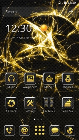 dark carbon fiber theme 1 1 1 download apk for android aptoide
