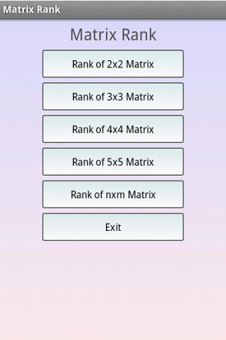 Matrizen rang berechnen online dating