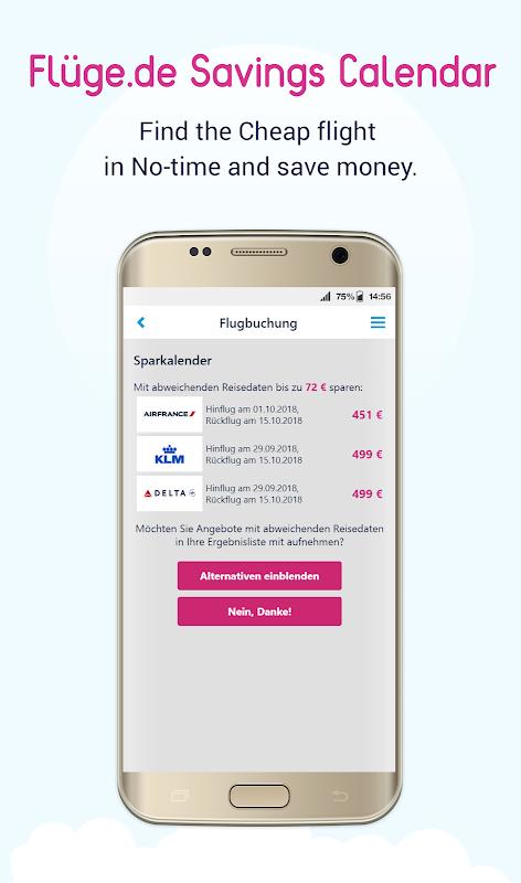 Flüge.de screenshot 1