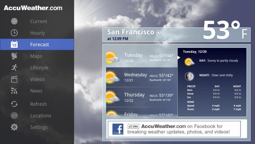 AccuWeather for Sony Google TV 1 2 5 Download APK for Android - Aptoide