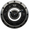 Luxus Ebony HQ Clock Widget Ikon