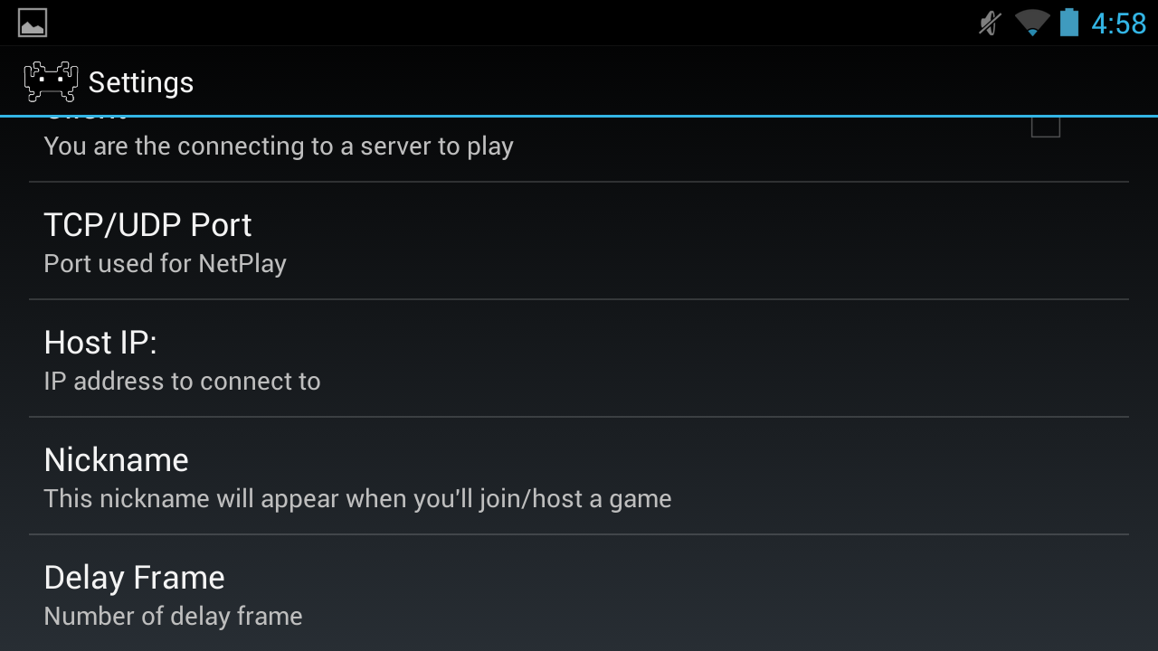 RetroidNetplay screenshot 2