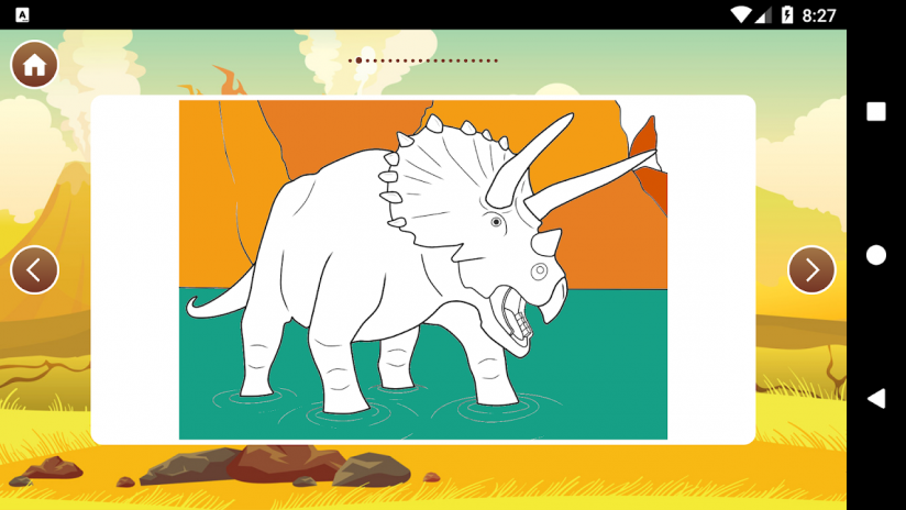 Best Dinosaur Coloring Book Screenshot 8