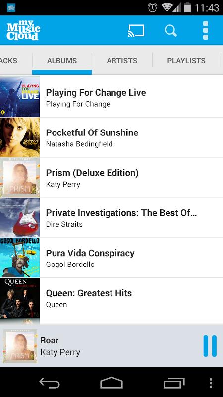 My Music Cloud: Storage & Sync screenshot 2