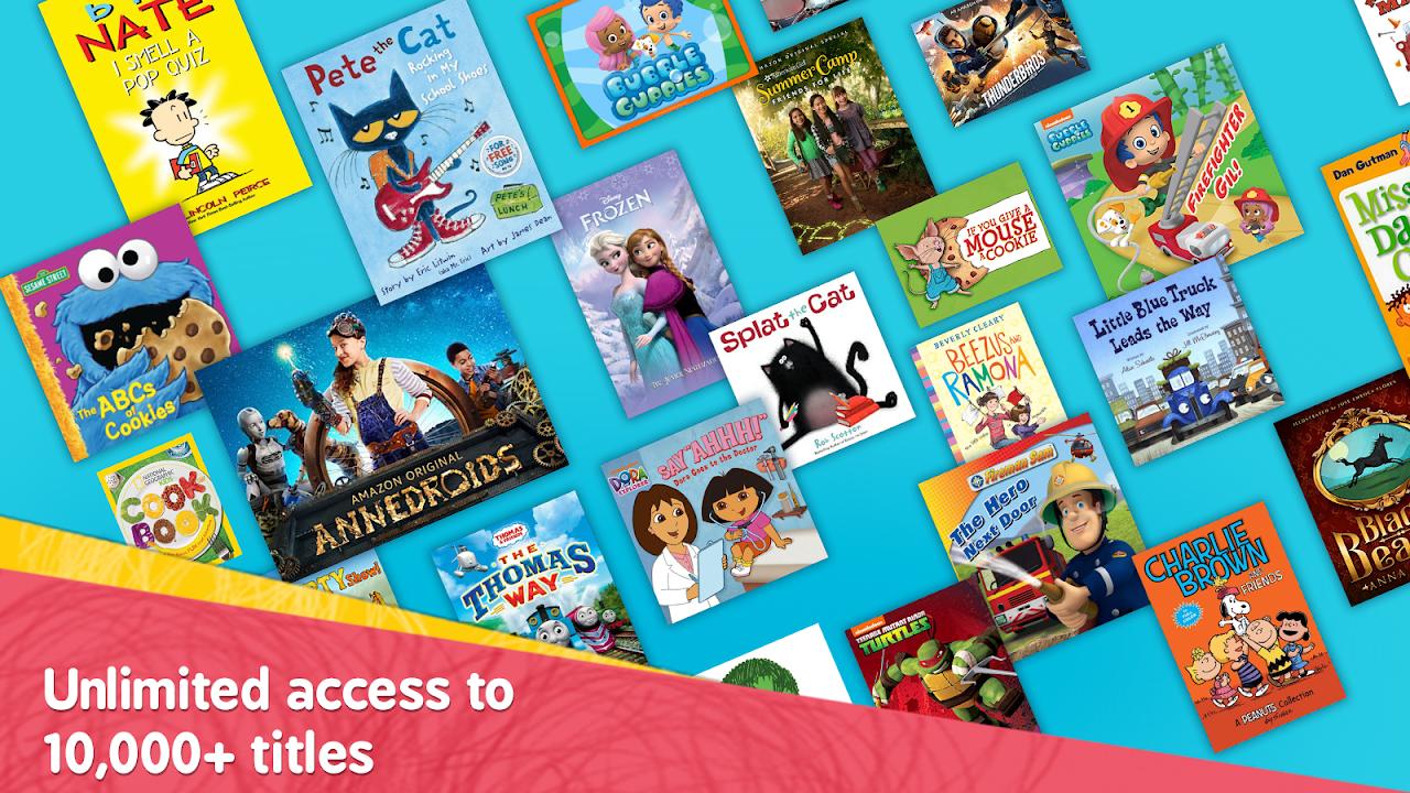 Amazon FreeTime – Kids' Videos, Books, & TV shows screenshot 1