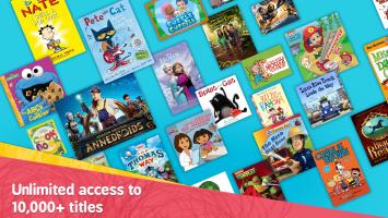 Amazon FreeTime – Kids' Videos, Books, & TV shows Screen