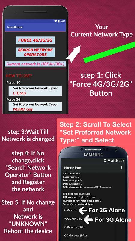 4G LTE only Switch -Speed Test 16 0 Download APK para