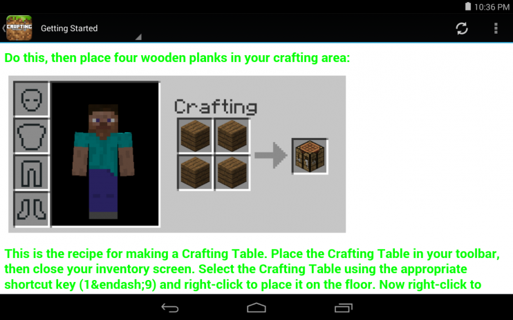Crafting Guide For Minecraft 1 0 Download APK for Android - Aptoide
