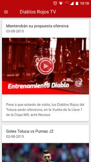 Deportivo Toluca FC screenshot 5