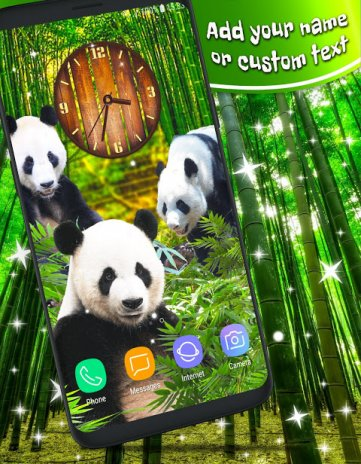 Panda 3d In Bamboo Parallax Live Wallpapers 474 Download