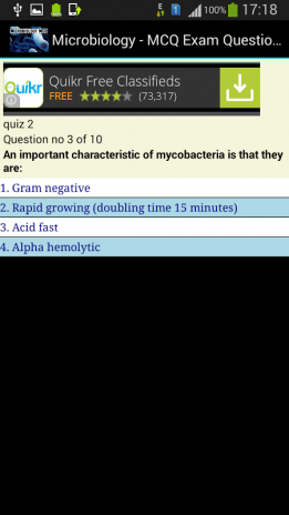 Microbiology Exam MCQ 2 0 Download APK for Android - Aptoide