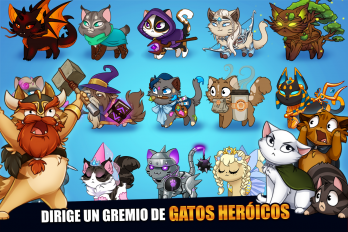 Castle Cats: Idle Hero RPG v 2.8.7 Мод (Free Shopping) 2
