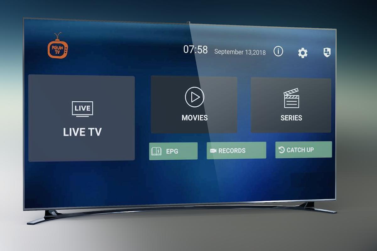 Pekan TV Box - Watch IPTV Live, Movies, Series screenshot 1