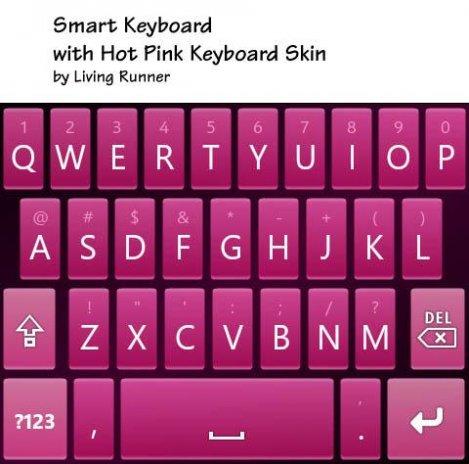 Hot Pink Keyboard Skin 1 0 Download APK for Android - Aptoide