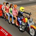 Bus Bike Taxi Traffic Rider