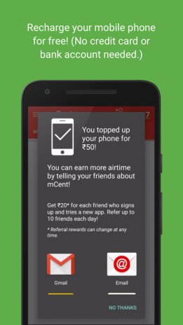 mCent - India's Recharge App 2 0 Download APK for Android