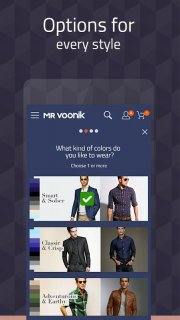 Mr Voonik - Online Shopping App screenshot 4