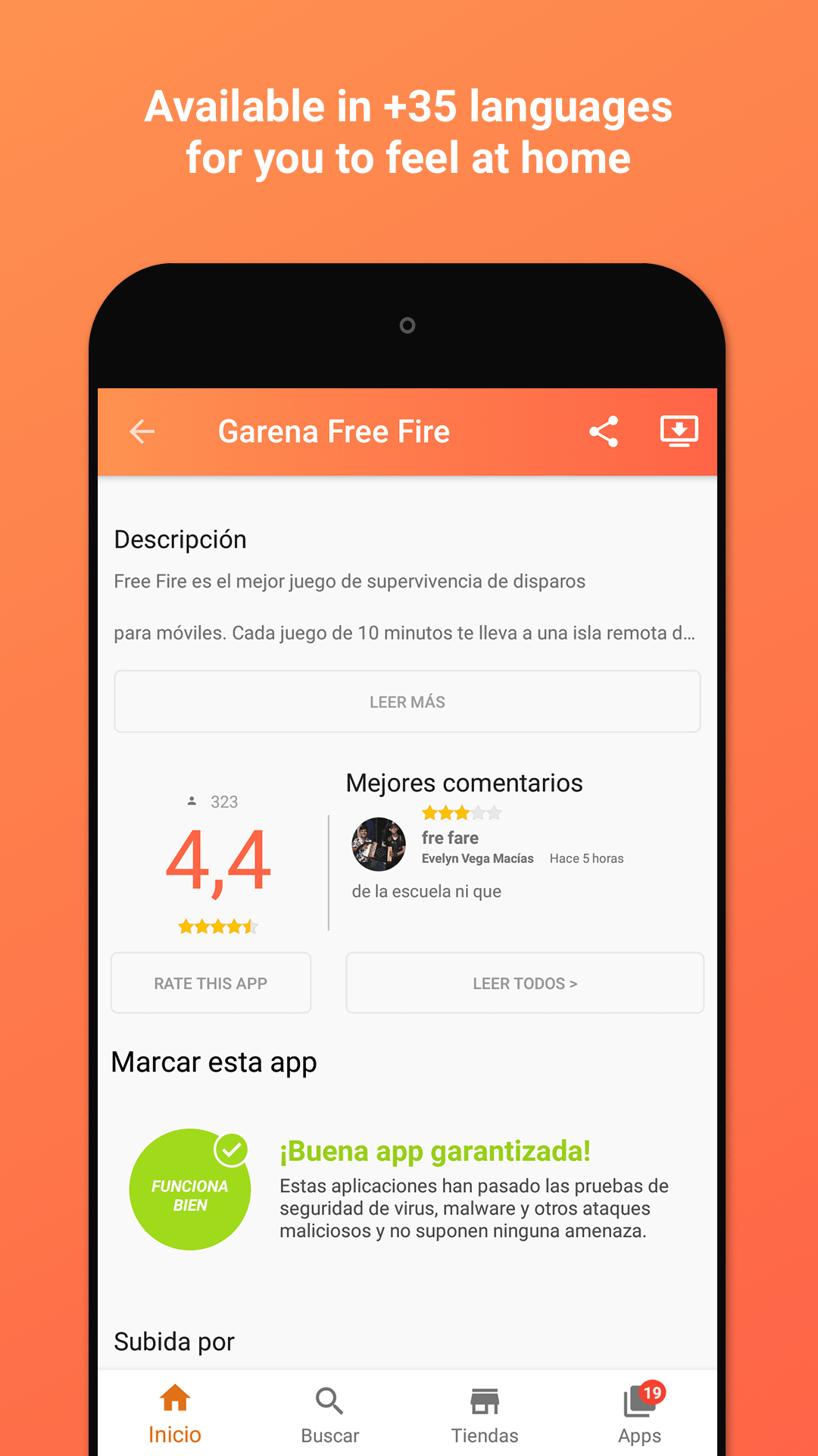 Aptoide screenshot 2