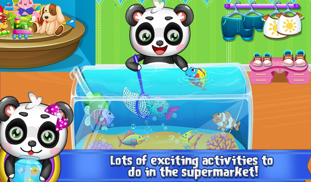 Sweet Baby Panda's Supermarket screenshot 2