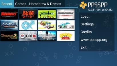 ppsspp gold emulador de psp captura de tela 3