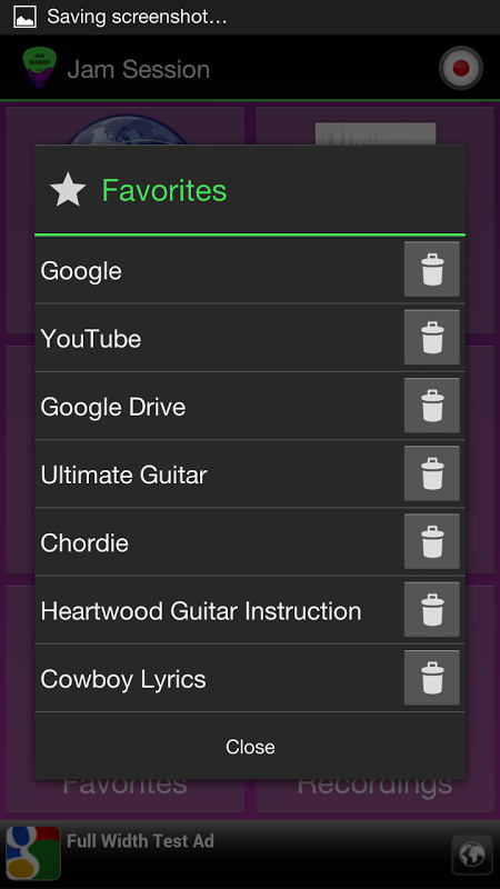 Guitar Jam Session screenshot 6