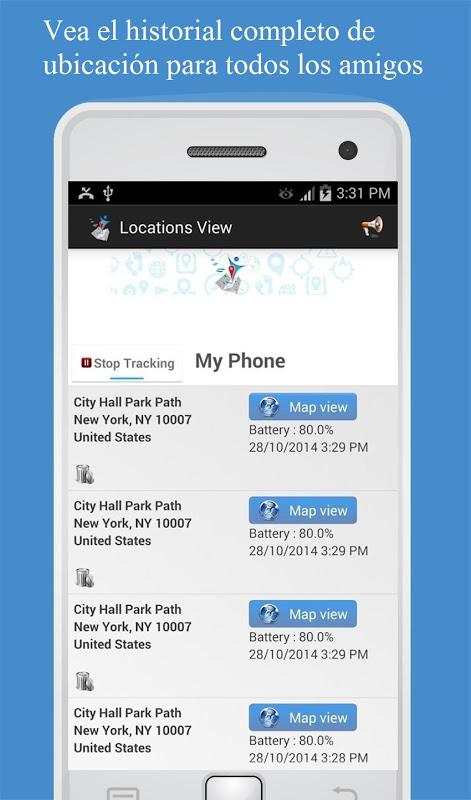 Descargar rastreador de celulares gps - Rastrear celular pelo cm security