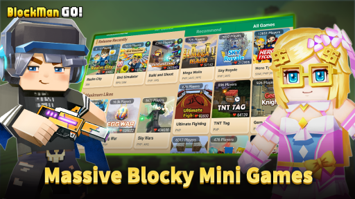 Blockman Go: Blocky Mods screenshot 2