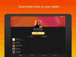 Yandex Music — listen and download Screen