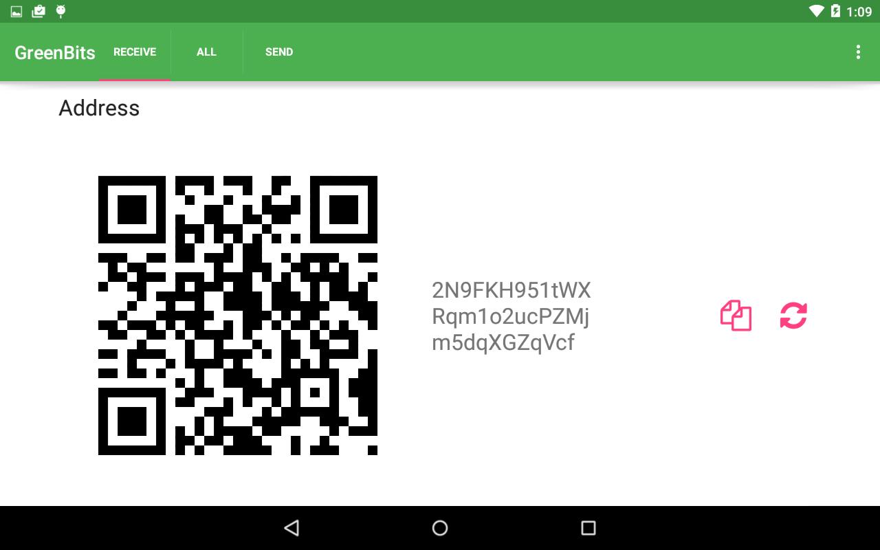 GreenBits Bitcoin Wallet screenshot 6