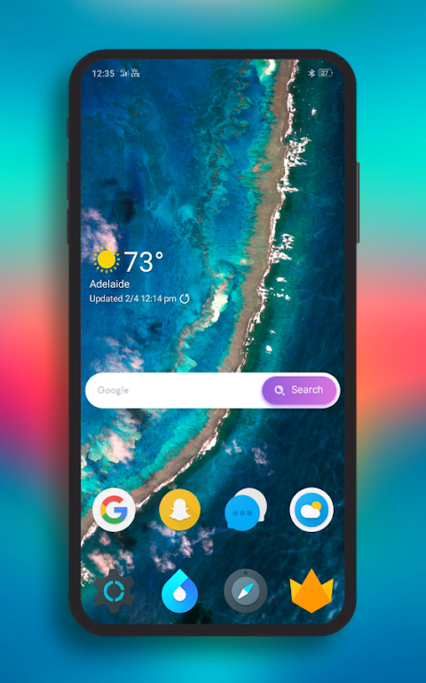 Polycon Icon Pack - Fruity screenshot 1