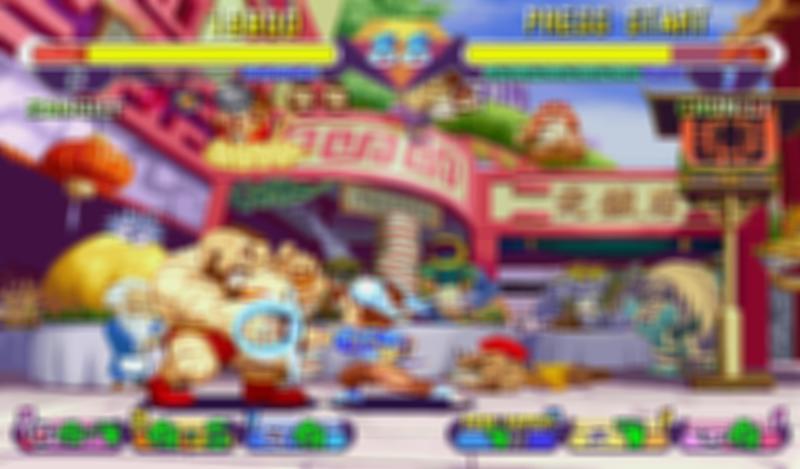 Mini super fighting gem mix screenshot 1