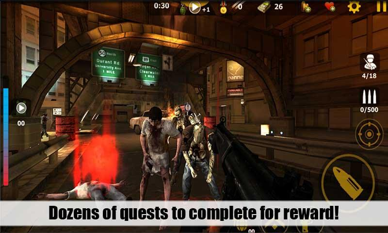 Attack Zombies 3D screenshot 1