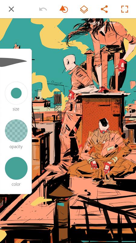 Adobe Illustrator Draw screenshot 2