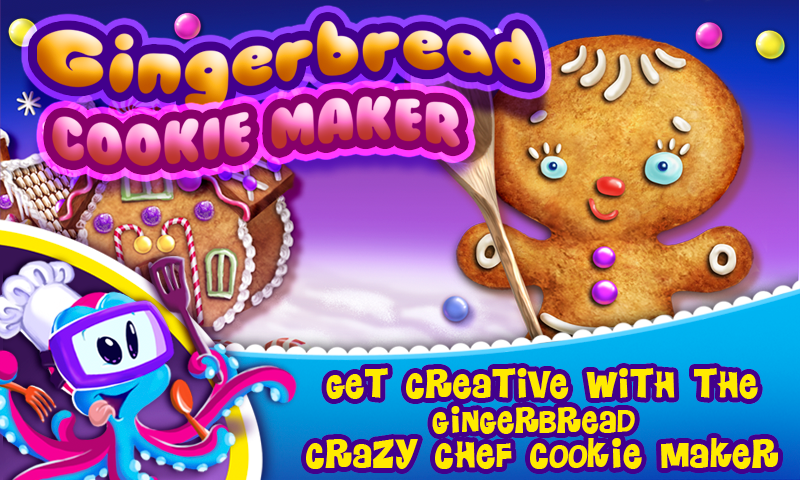 Gingerbread Crazy Chef screenshot 1
