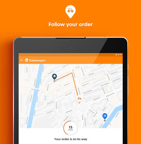 Thuisbezorgd.nl - Order food online screenshot 2