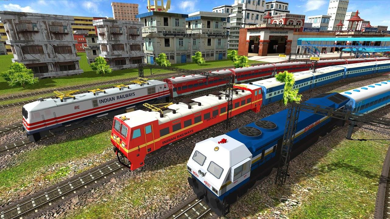 Indian Train Simulator 2018 - Free screenshot 2