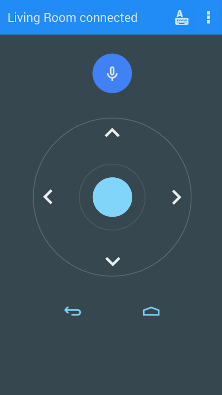 Android TV Remote Control screenshot 1