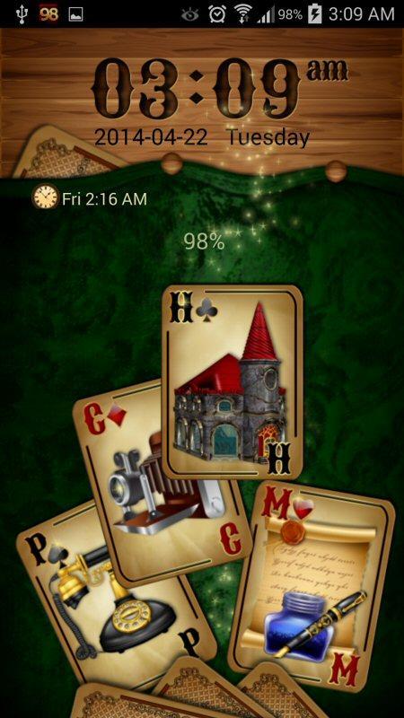 GO Locker Theme: Cards screenshot 2
