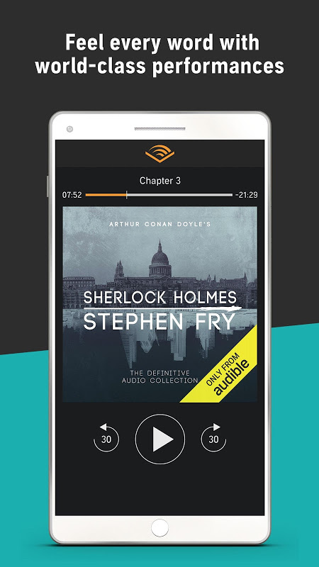 Audiobooks from Audible screenshot 6