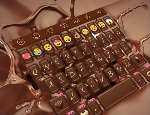 Chocolate Emoji Keyboard Theme 1 0 6 Download APK for