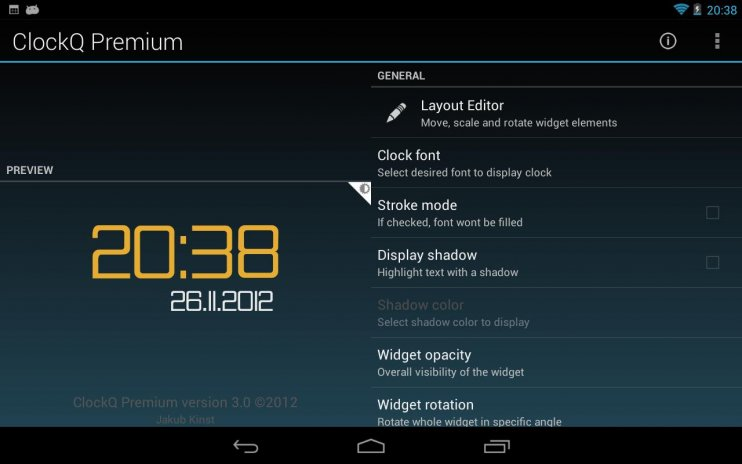 ClockQ Premium 3 0 6 Download APK for Android - Aptoide