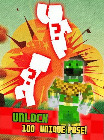 superhero power rangers 3d action avatar creator kids games 1 0