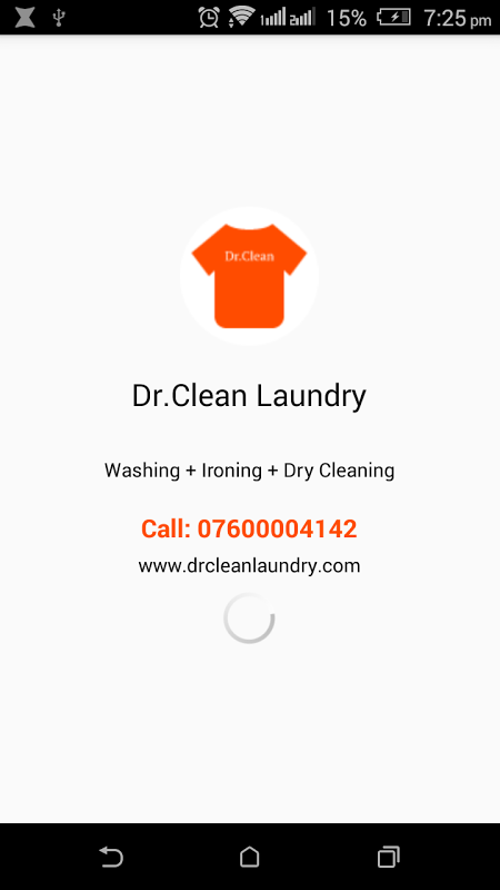Dr.Clean Laundry screenshot 1