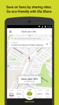 Ola cabs - Book taxi in India Screenshot