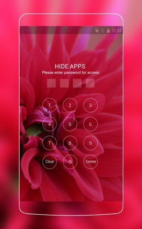 Red Pure Flowers Theme: Pretty Love Wallpaper HD 1 0 0