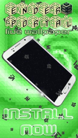 Ender Portal Live Wallpaper 12v2 Download Apk For Android