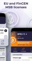 OWNR Bitcoin wallet and Visa card. Ethereum, BTC Screen