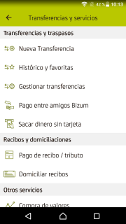 Bankia screenshot 4